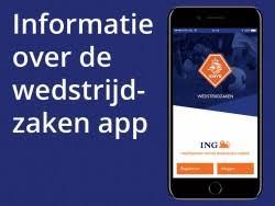 De Wedstrijdzaken App